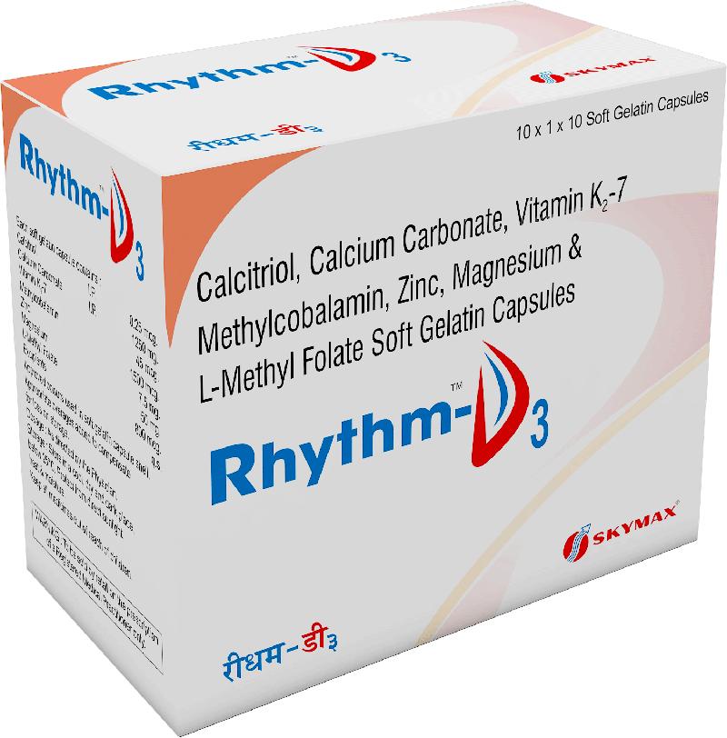 RHYTHM-D3 CAPSULES